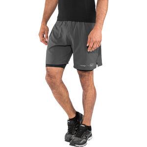 "2XU Run 2 In 1 Compression Shorts Men 7"" charcoal/nero bei fahrrad.de Online"