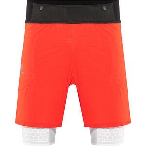 Salomon Exo Twinskin Shorts Herren fiery red/white fiery red/white
