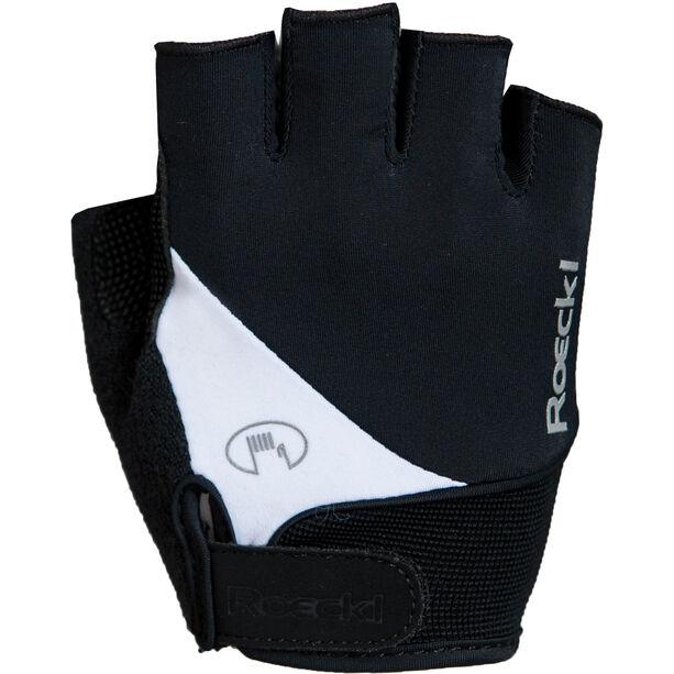 Roeckl Napoli Handschuhe schwarz/weiß