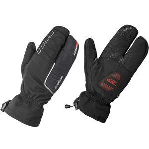 GripGrab Nordic Windproof Deep Winter Lobster Gloves black black