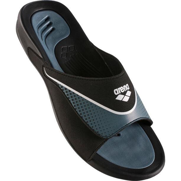 arena Hydrofit VCR Hook Sandals Herren black-grey-white