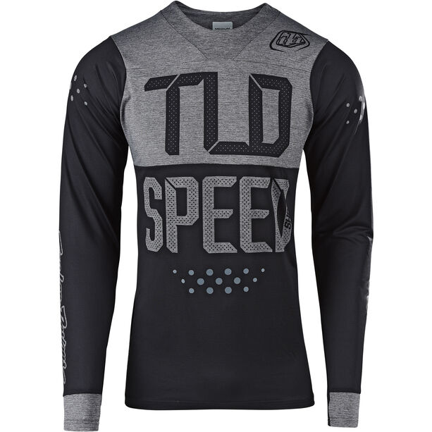 Troy Lee Designs Skyline LS Jersey Herren speedshop/black/heather gray