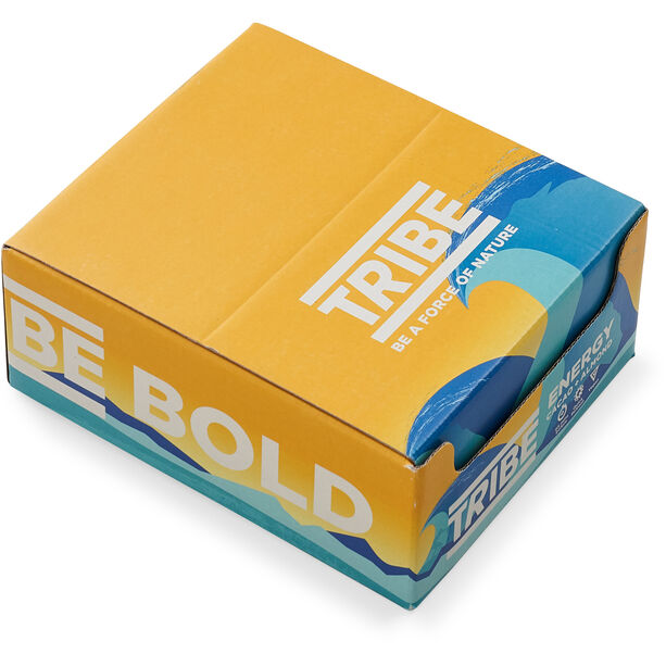 TRIBE Vegan Energy Bar Box 16x42g Kakao/Mandel