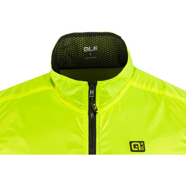 Alé Cycling Guscio Light Pack Vest Herren flou yellow