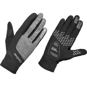 GripGrab Hurricane Windproof Winterhandschuhe Damen black/grey black/grey