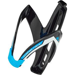 Elite Custom Race Flaschenhalter schwarz/blue glänzend schwarz/blue glänzend
