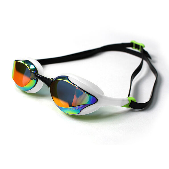 Zone3 Volaire Streamline Racing Brille mirror lens-white/lime