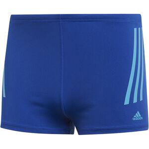 adidas Pro 3-Stripes Boxer Herren collegiate royal/shock cyan collegiate royal/shock cyan