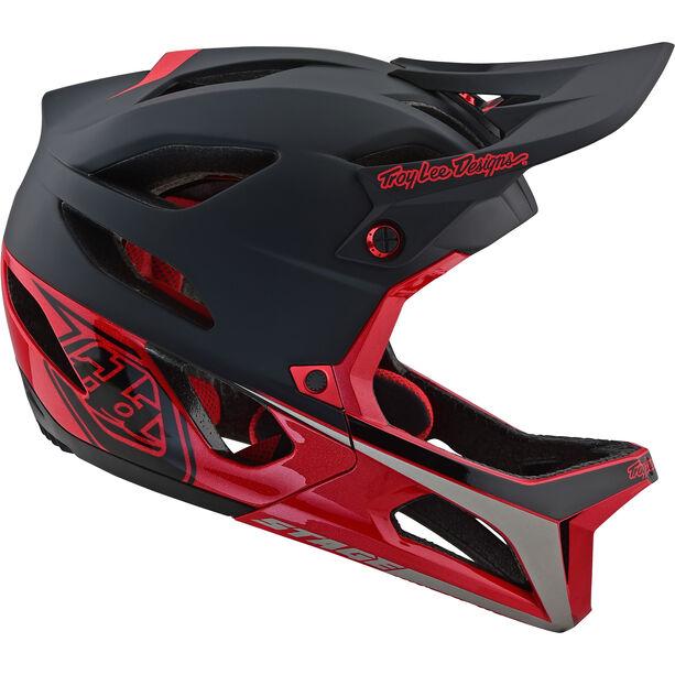 Troy Lee Designs Stage Race MIPS Helmet black/red