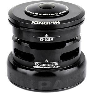 Sixpack Kingpin 2In1 Steuersatz ZS49/28.6 I EC49/30 and ZS49/28.6 I EC49/40 schwarz schwarz