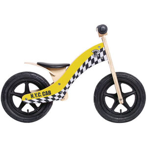"Rebel Kidz Wood Air Laufrad 12"" Kinder taxi/gelb taxi/gelb"