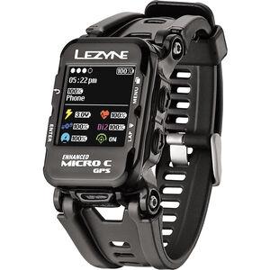 Lezyne Micro C Multisportuhr mit Herzfrequenzmessgerät schwarz bei fahrrad.de Online