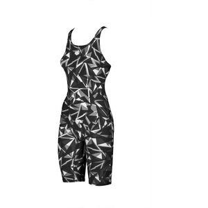 arena Shattered Glass Fully Body Suit Women black