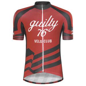 guilty 76 racing Velo Club Pro Race Jersey Herren red red