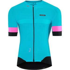 Etxeondo Mendi SS Jersey Herren blue-pink blue-pink