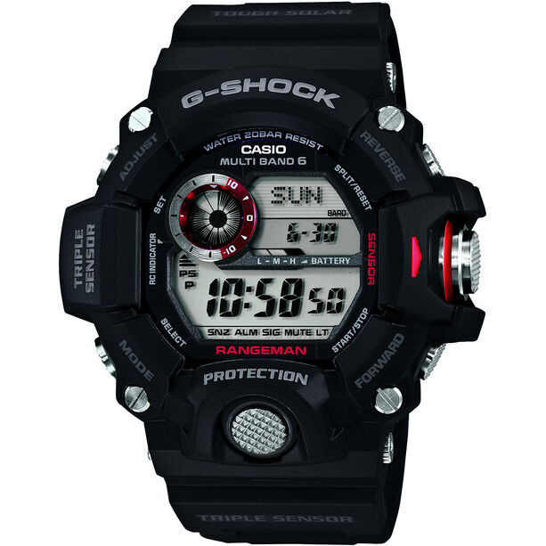 CASIO G-SHOCK GW-9400-1ER Uhr Herren black/black/grey