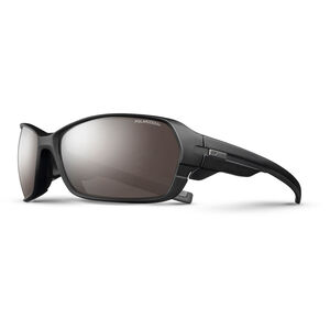 Julbo Dirt² Polarized 3+ Sunglasses Matt Black/Black-Gray Flash Silver