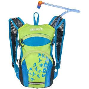 SOURCE Spry Trinkrucksack 1,5l Kinder light blue/green light blue/green