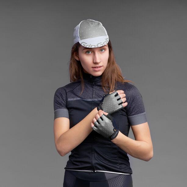 GripGrab Rouleur Gepolsterte Kurzfinger Handschuhe Damen grey