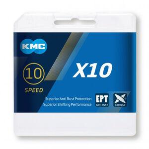 KMC X10 EPT Kette 10-fach silber silber