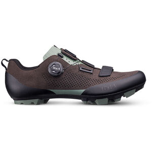 Fizik Terra X5 Suede MTB Schuhe dunkel braun/sage grün dunkel braun/sage grün