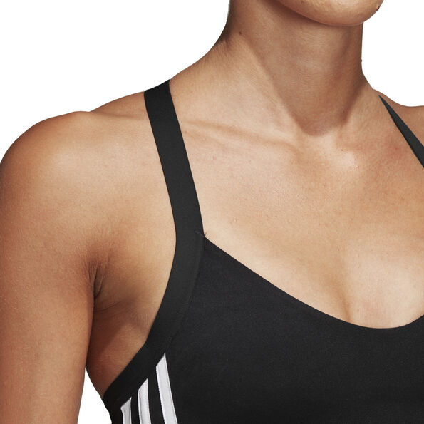 adidas All Me 3-Stripes Sport BH Damen black
