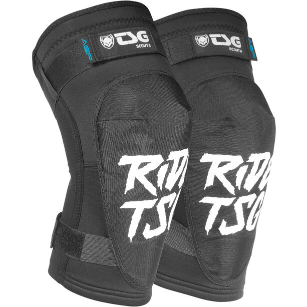 TSG Scout A Kneeguards ripped black