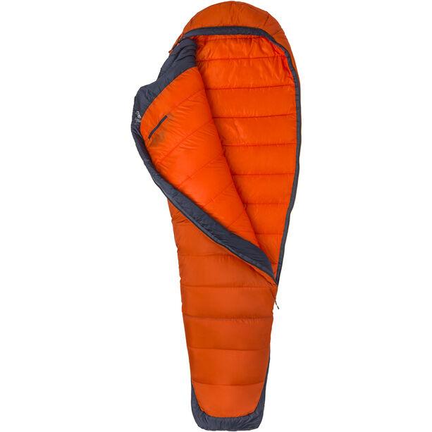 Marmot Trestles Elite Eco 0 Sleeping Bag Long orange haze/dark steel
