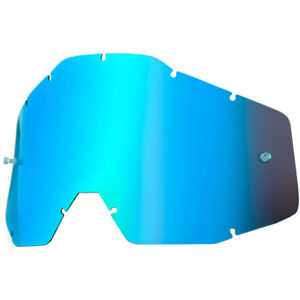 100% Replacement Lenses blue / mirror blue / mirror