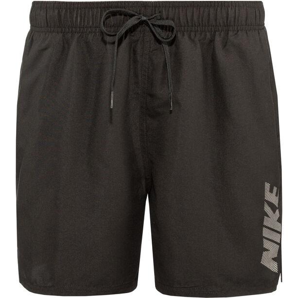 "Nike Swim Logo Solid Lap 5"" Volley Shorts Herren black"