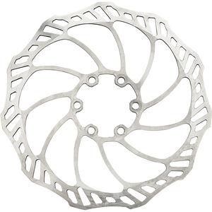 Rotor Uno Bremsscheibe silber silber