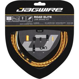 Jagwire Road Elite Link Bremszugset gold gold