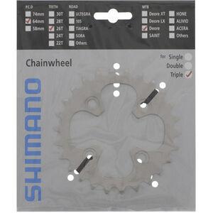 Shimano Deore FC-M530 Kettenblatt 9-fach silber silber