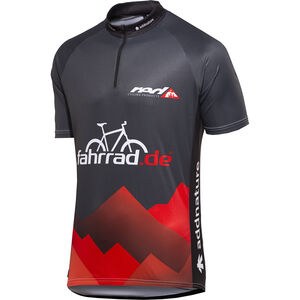 fahrrad.de Basic Team Jersey Herren schwarz/rot bei fahrrad.de Online