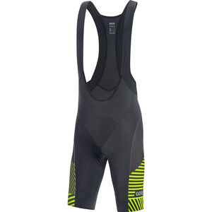 GORE WEAR C3 Bib Shorts Men black/citrus green bei fahrrad.de Online