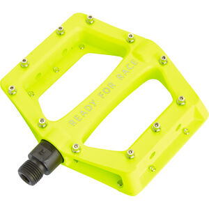Cube RFR CMPT Flat Pedals neon yellow neon yellow