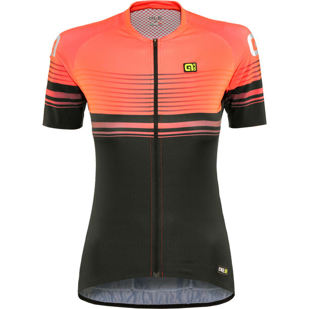 Alé Cycling Graphics PRR Slide SS Jersey Damen black-lollipop
