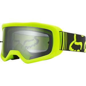 Fox Main II Race Brille fluorescent yellow/clear fluorescent yellow/clear