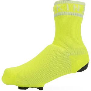 Sealskinz Waterproof All Weather Überziehsocke neon yellow/white neon yellow/white