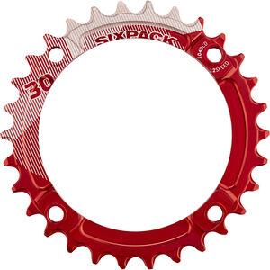Sixpack K-Ring Narrow Wide Kettenblatt rot bei fahrrad.de Online