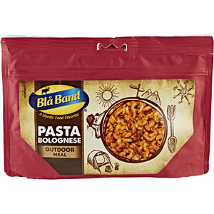 Bla Band Outdoor Mahlzeit Pasta Bolognese