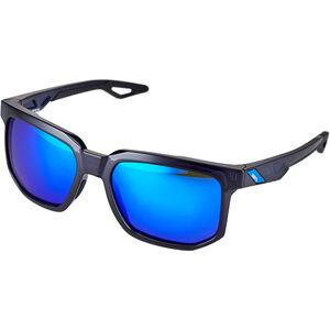100% Centric Glasses polished translucent blue | mirror polished translucent blue | mirror