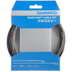 Shimano OT-SP41 Schaltzugset Road/Edelstahl schwarz schwarz