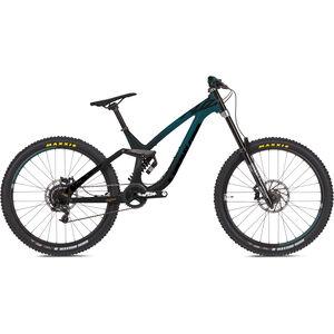 "NS Bikes Fuzz 27.5"" black/teal black/teal"