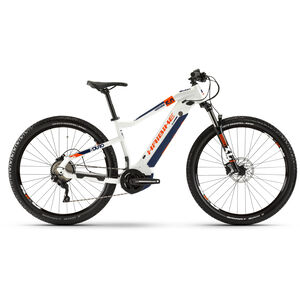 HAIBIKE SDURO HardNine 5.0 white/orange/blue white/orange/blue
