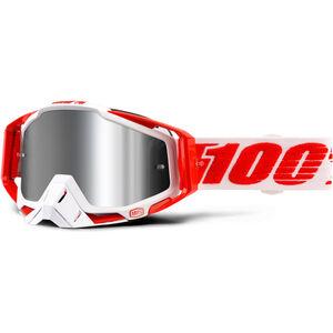 100% Racecraft Goggle Plus Injected Bilal-Mirror bei fahrrad.de Online