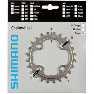 Shimano Deore XT FC-M780 silver bei fahrrad.de Online
