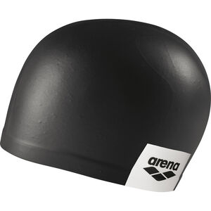 arena Logo Moulded Swimming Cap black black