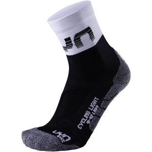 UYN Cycling Light Socks Damen black/white black/white