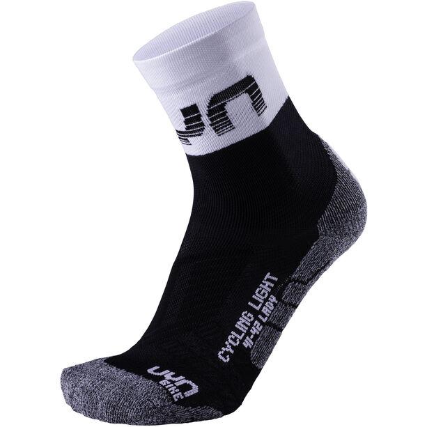 UYN Cycling Light Socks Damen black/white